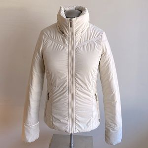 Bench Ivory Puffer Jacket with hood XS